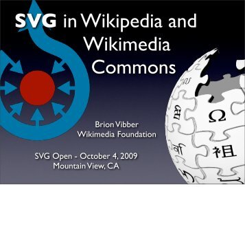 SVG in Wikipedia - SVG Open