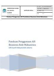 user manual Beasiswa role mahasiswa  ver 1.0