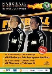 VfL Oldenburg vs.sGh rosengarten-Buchholz VfL Oldenburg vs ...
