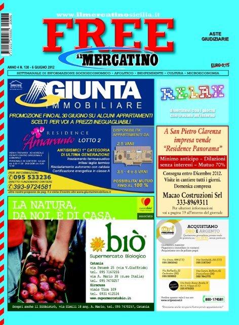 Subitoit Cucine Usate Catania.Catania Infoline 095 7167081 7280145 Ilmercatinosicilia It