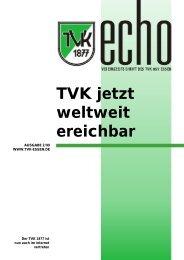 TVK-Echo 2/99 - Turnverein 1877 eV Essen-Kupferdreh