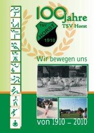 Chronik zur 100-Jahr-Feier - TSV Horst