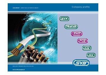 Company profile - SKG Netzwerktechnik GmbH