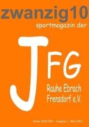 Zeitschrift JFG (Druckfassung) - JFG Frensdorf