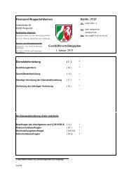 Geschäftsverteilungsplan - Finanzamt Wuppertal-Barmen