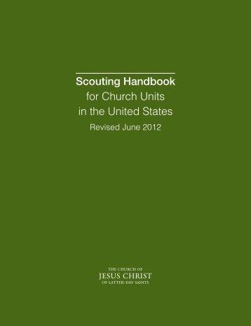 Scouting Handbook - The Church of Jesus Christ of Latter-day Saints