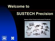 Welcome to SUSTECH Precision - Sustech Manufacturing