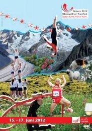 in Naters - Oberwalliser Turnfest 2012