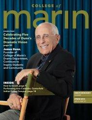 Spring 2013 (PDF, 5 MB) - College of Marin