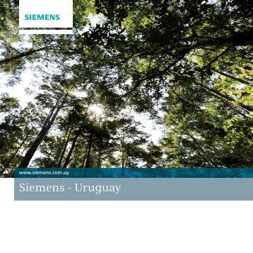 Pliego completo - Brochure Corporativo ... - Siemens Uruguay