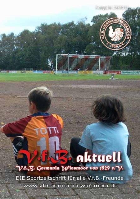 V.f.B. aktuell - VfB Germania Wiesmoor
