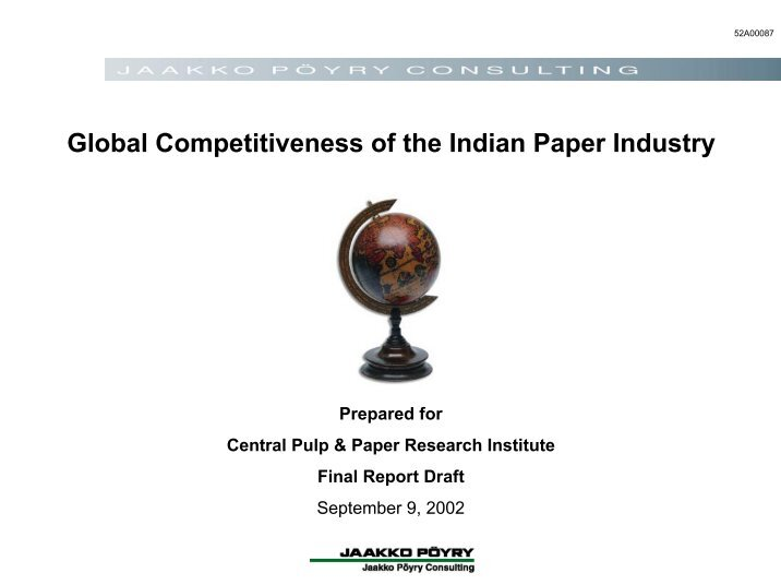 research paper globalization india Briefing paper: globalization matthew krain the college of wooster wooster, ohio  access to global markets—in their case, by finding a faster route to india.