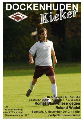 Saison 2010/2011 - Komet Blankenese