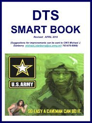 dts smart book - Common Access Card (CAC)