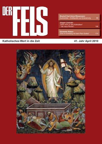 FELS April 2010.indd - Der Fels