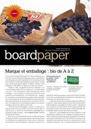Marque et emballage : bio de A à Z - Stora Enso