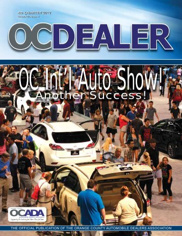 OC Dealer - 4th Quarter 2012 - Orange County Automobile Dealers ...
