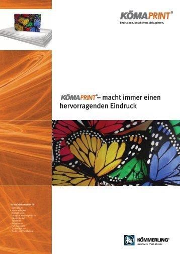 KömaPrint Broschüre - Findeis Kunststoffe