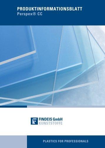 Perspex® CC Broschüre - Findeis Kunststoffe