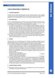 Linoleum-Bodenbeläge im Objektbereich - Stolz Moebel