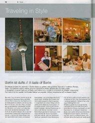 "Page 1 58 È l mehrere Restau- ¿ffade 11"" Berlin and follow a tour ..."