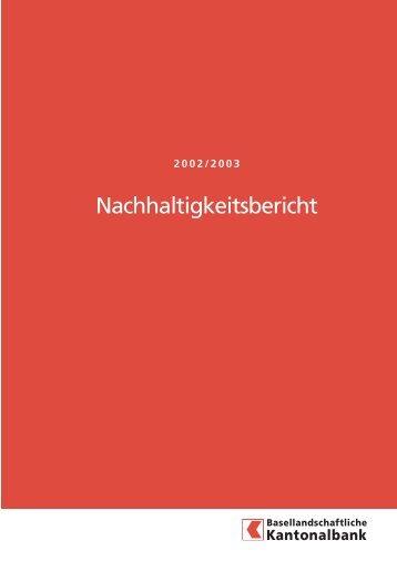 Nachhaltigkeitsbericht - CorporateRegister.com
