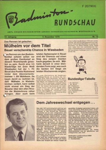 Nr. 12 Dezember 1975 - BLV-NRW