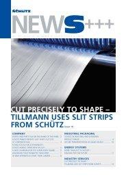 CUT PRECISELY TO ShAPE - Schutz GmbH & Co. KGaA