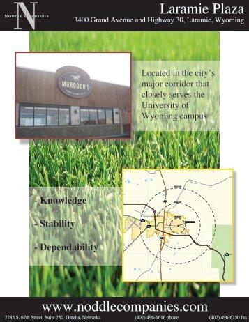 Laramie Plaza - Noddle Companies