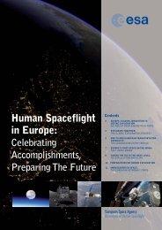 Human Spaceflight in Europe: Celebrating Accomplishments - Esa