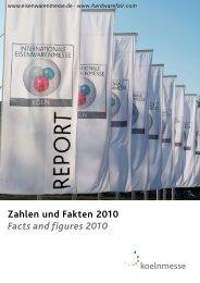 Zahlen und Fakten 2010 Facts and figures 2010 - INTERNATIONAL ...