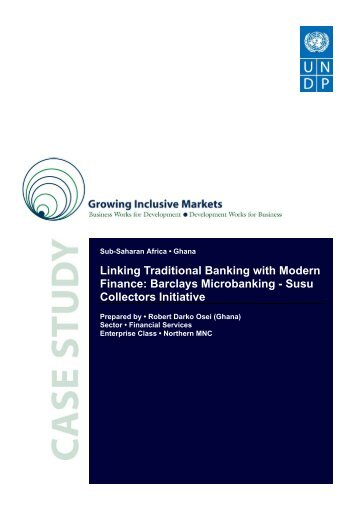 Linking Traditional Banking with Modern Finance - Africa Platform ...