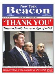 Week 16 - New York Beacon