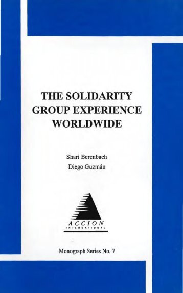 THE SOLIDARITY GROUP EXPERIENCE WORLDWIDE