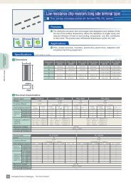 Low resistance chip resistors (long side terminal type) - susumu-usa