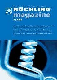 2 | 2008 - Röchling Engineering Plastics