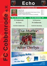Ausgabe 4 - FC Cobbenrode 1926 eV