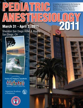 March 31 - April 3, 2011 - The Society for Pediatric Anesthesia