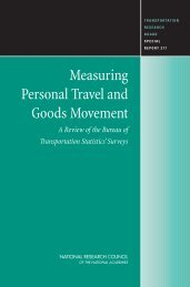 Measuring Personal Travel and Goods Movement - Transportation ...