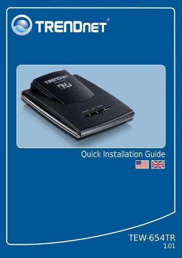 Quick Installation Guide TEW-654TR - TRENDnet