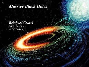 Massive Black Holes in Galaxies