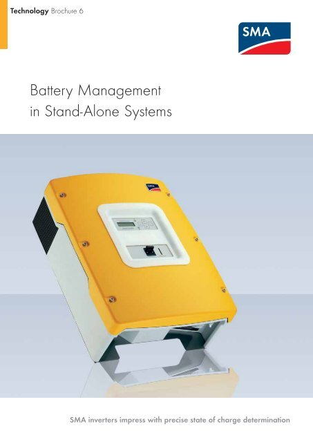 Battery Management in Stand-Alone Systems - Critical Power Supplies
