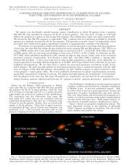 a revised parallel-sequence morphological classification of galaxies