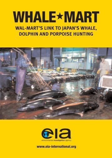 Whale-Mart - Environmental Investigation Agency