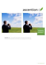 www.ascention.com ascention >> mit corporate process bilden Sie ...