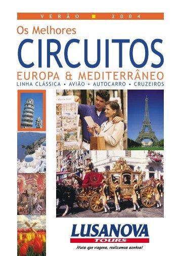 Circuitos 2004 - Lusanova Tours