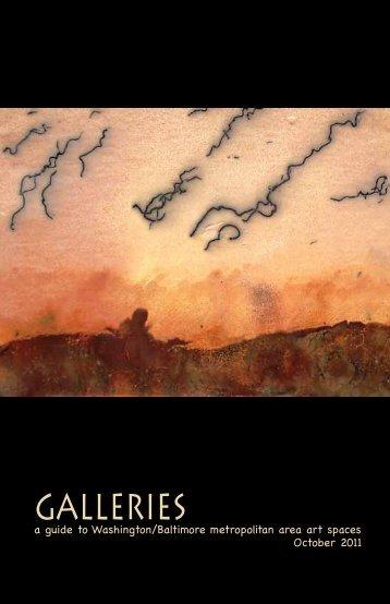 October 2011 galleries magazine