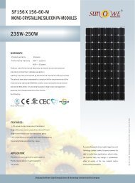 SF156 X 156-60-M - GAP Energy GmbH