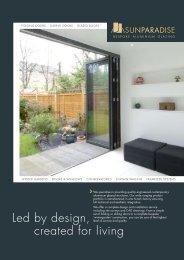Sunparadise flyer - Ecobuild