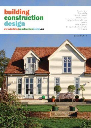 June/July 2012 - Building Construction Design